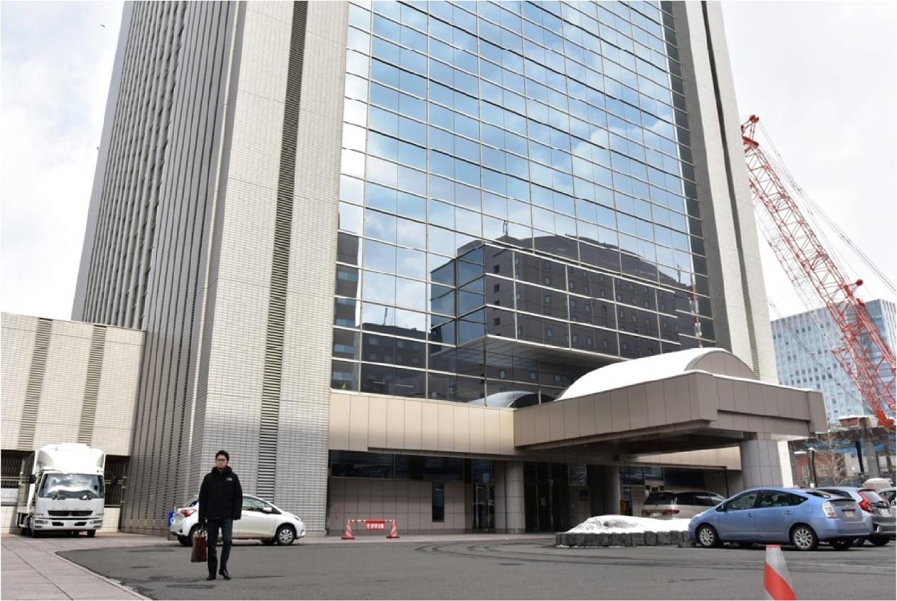 15:00 北海道警察本部にて接見
