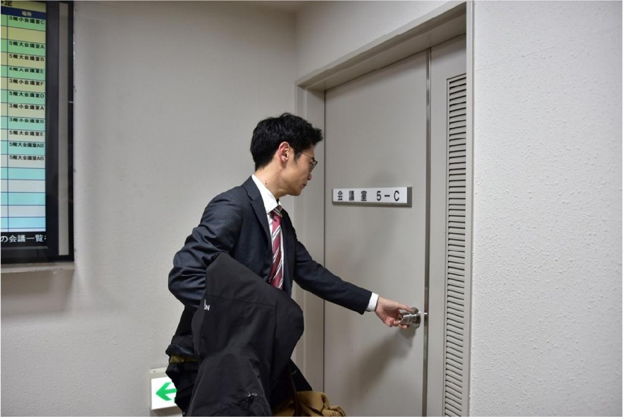 18:00 札幌弁護士会館で委員会に出席