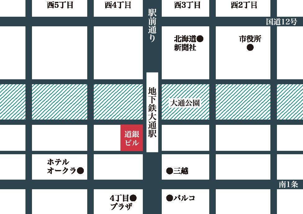 札幌事務所地図